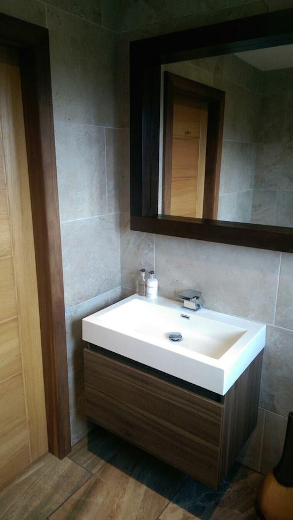 Bathroom renovation helensburgh dg joinery helensburgh for Bathroom refitters